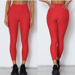 🎉White Fox Active Holly Red Pocket Skinny Legging